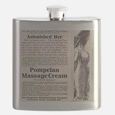 Pompeian Massage Cream Flask