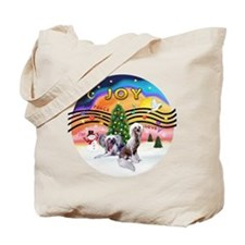 XMusic2 - Two HL Cresteds Tote Bag