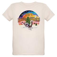 XMusic2 - Two HL Cresteds Organic Kids T-Shirt