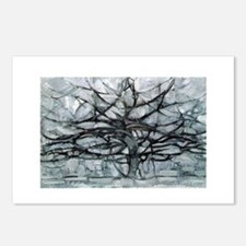 mondrian Postcards (Package of 8)