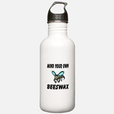 Mind Your Own Beeswax Water Bottle