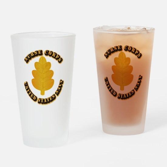 Navy - Nurse Corps Drinking Glass
