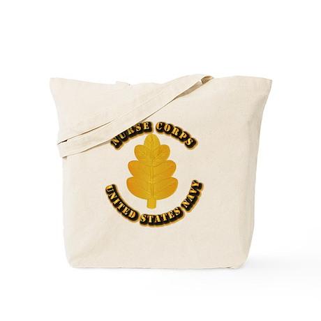 Navy - Nurse Corps Tote Bag