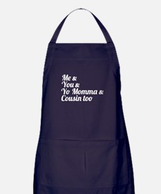 Me and You Apron (dark)