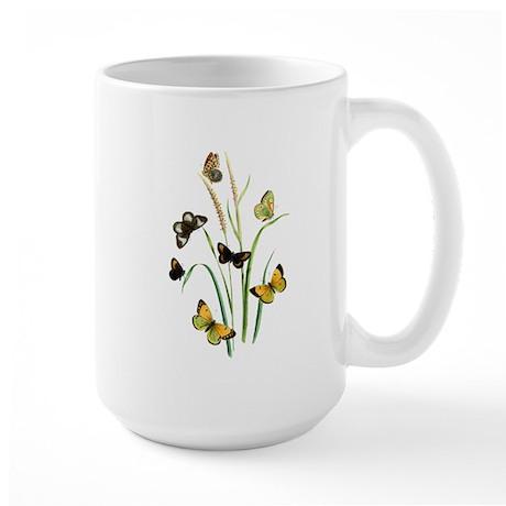Butterflies of Summer Large Mug
