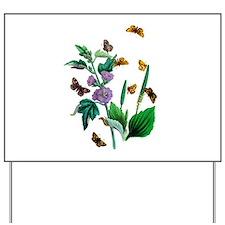 Butterflies of Summer Yard Sign