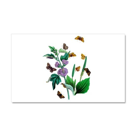 Butterflies of Summer Car Magnet 20 x 12