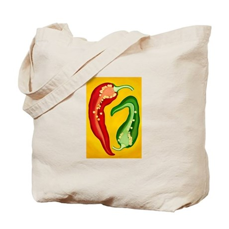 Two Chiles Tote Bag