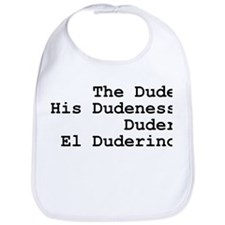 El Duderino Bib