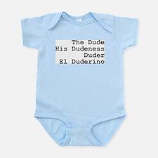 El Duderino Infant Bodysuit