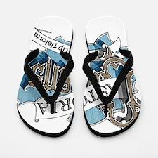 Growing Up Astoria Scroll Flip Flops