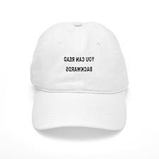You can read backwards Cap