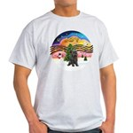 XMusic2-Brindle Cairn Light T-Shirt