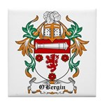 O'Bergin Coat of Arms Tile Coaster