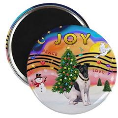 XMusic2-Fox Terrier (#1) Magnet