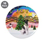 "XMusic2-Fox Terrier (#1) 3.5"" Button (10 pack"