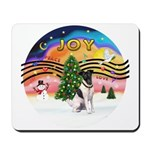 XMusic2-Fox Terrier (#1) Mousepad