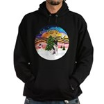 XMusic2-Fox Terrier (#1) Hoodie (dark)