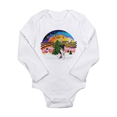 XMusic2-Fox Terrier (#1) Long Sleeve Infant Bodysu