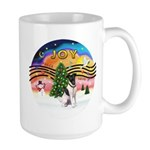 XMusic2-Fox Terrier (#1) Large Mug