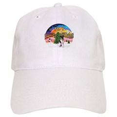 XMusic2-Fox Terrier (#1) Baseball Cap