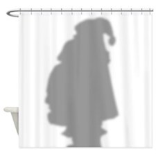 Santa Claus Shadow Shower Curtain