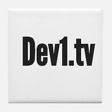 Dev1.tv Tile Coaster