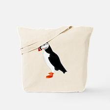 Pretty Puffin Tote Bag