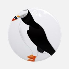 Pretty Puffin Ornament (Round)