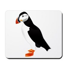 Pretty Puffin Mousepad