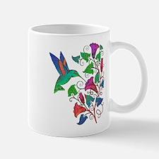 Rainbow Hummingbird on Trumpet Vine Mug