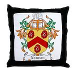 Norman Coat of Arms Throw Pillow
