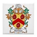 Norman Coat of Arms Tile Coaster