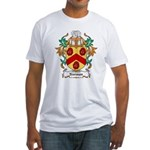 Norman Coat of Arms Fitted T-Shirt
