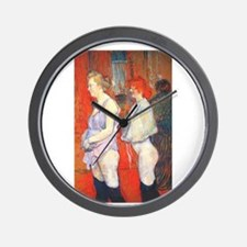 toulouse lautrec Wall Clock