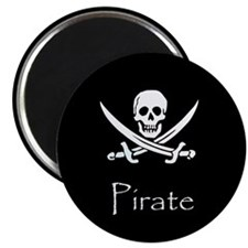 "Pirate 2.25"" Magnet (10 pack)"