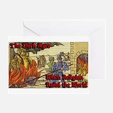 Dark Ages 2 Greeting Card
