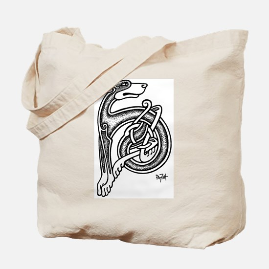 Celtic Sighthound Tote Bag