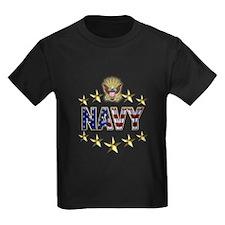 USN Flag Stars Eagle T