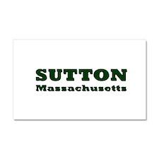 Sutton Massachusetts Name Car Magnet 20 x 12