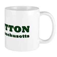 Sutton Massachusetts Name Mug
