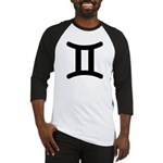 Gemini Symbol Baseball Jersey