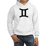 Gemini Symbol Hooded Sweatshirt