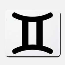 Gemini Symbol Mousepad