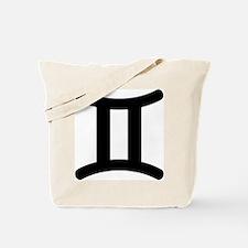 Gemini Symbol Tote Bag