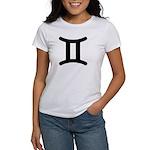 Gemini Symbol Women's T-Shirt