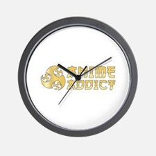 Anime Addict Wall Clock