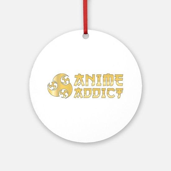 Anime Addict Ornament (Round)