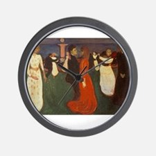 edvun munch Wall Clock