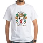 Newton Coat of Arms White T-Shirt